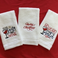 Wine-Christmas-Embroidered-Towles