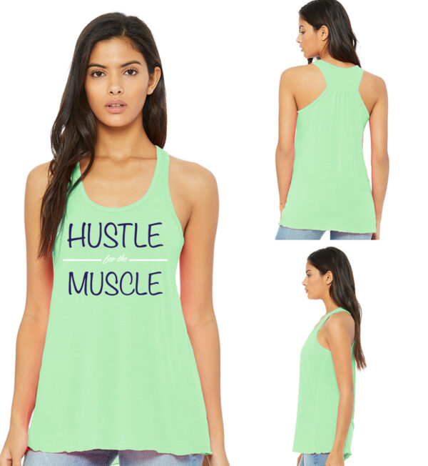 Hustle for the Muscle Mint Tank