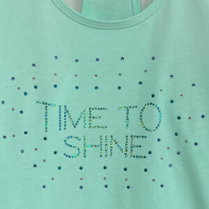 Time to Shine Mint Front