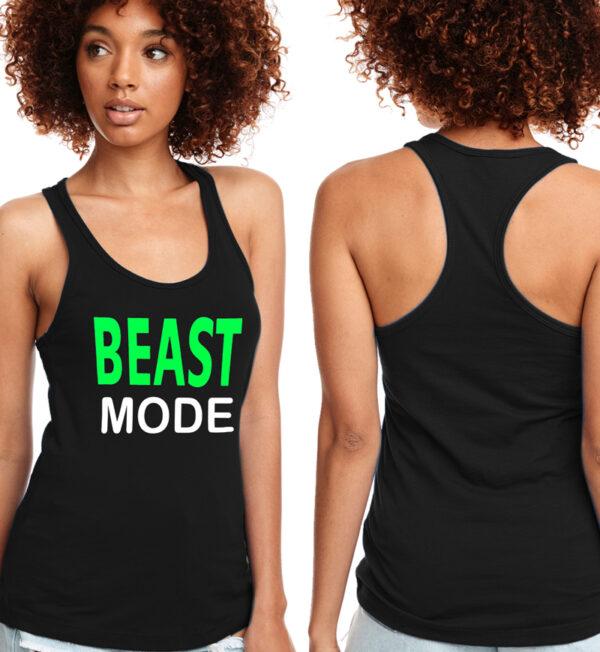 Beast Mode Black Tank