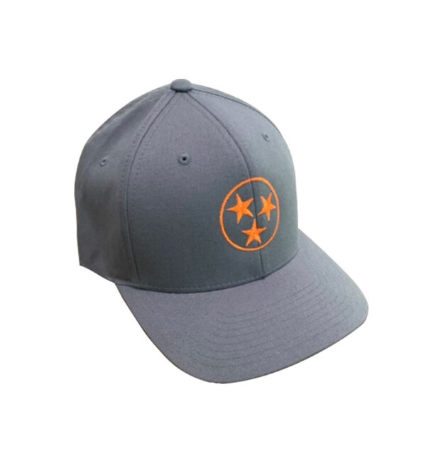 Flexfit-Cap-with-TriStar-grey